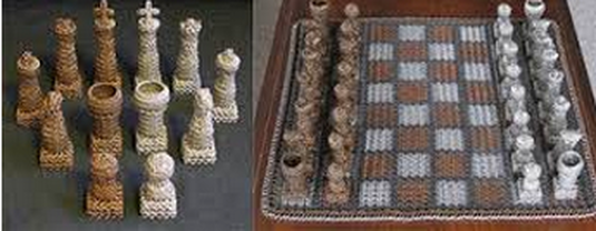 chain mail chess set