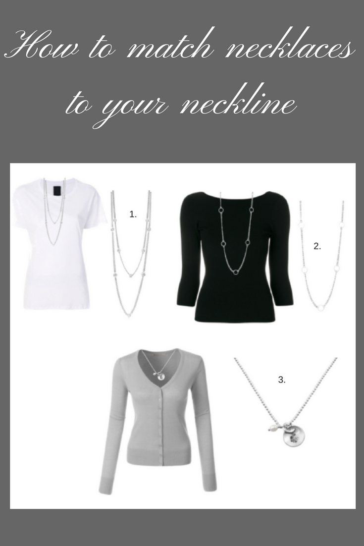 which necklace to wear with which neckline?